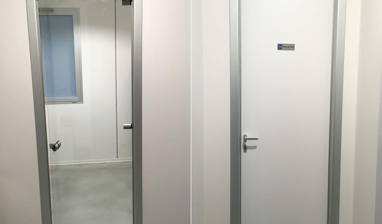 Porte interne realizzate con profili in estruso di - Porte interne su misura milano ...